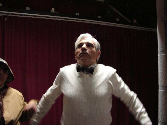 Gérard en Maître Yoga
