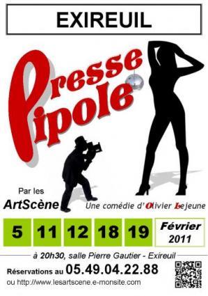 Presse Pipole d'Olivier Lejeune par les ArtScène