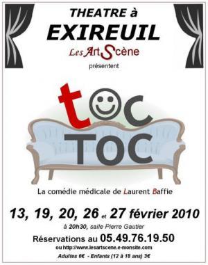 TOC-TOC Une pièce de Laurent Baffie