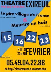 Les artscene théâtre : saison 2018/2019