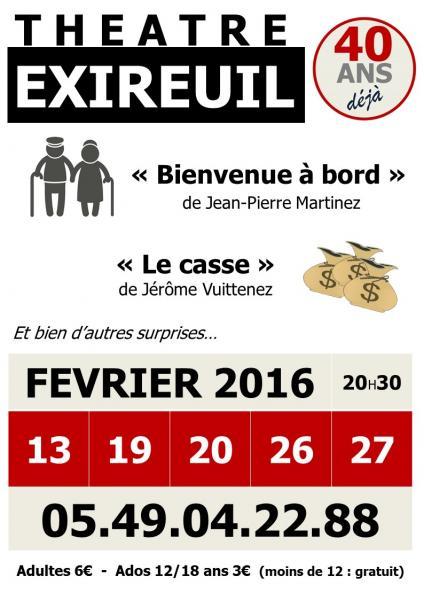 2016 : 40 ans de théâtre à Exireuil