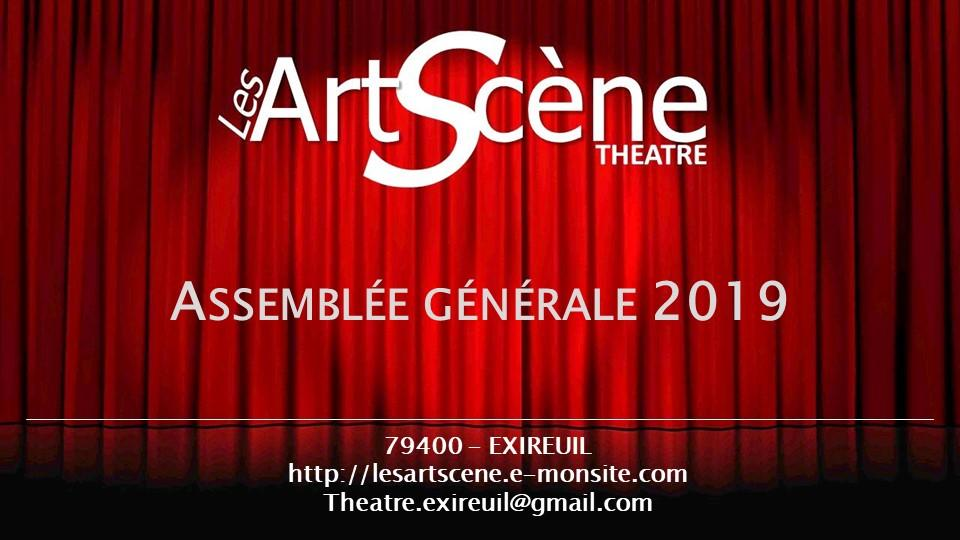 Ag 2019 des ArtScène Théâtre
