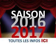 Saison 2016/2017 des ArtScène (theatre EXIREUIL)